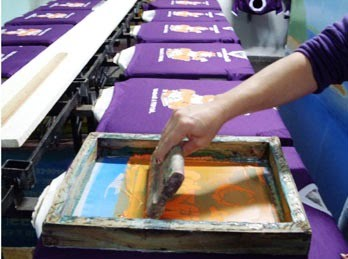 silk screen e serigrafia