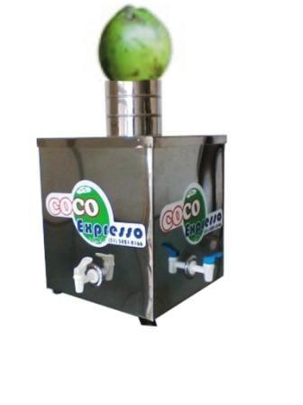 máquina vendas de coco