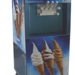 Máquinas: sorvete expresso e frozen yogurt
