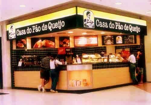 casa do pao de queijo-franquia de cafe