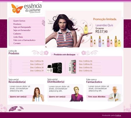 Essência do Perfume franquia