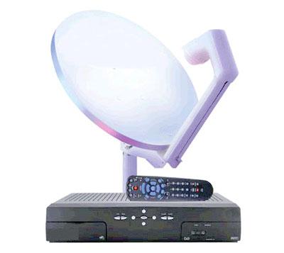 representante de antena e receptor