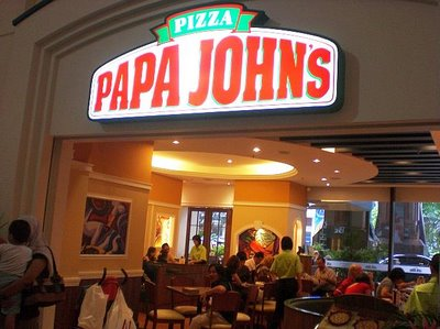 franquia pizzaria papa johns
