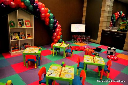 buffet de festa infantil
