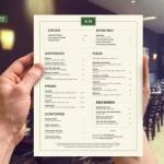 10 dicas para criar um super menu de restaurante