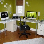home office verde