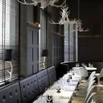 restaurante chique e moderno