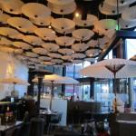 restaurante decoração de teto