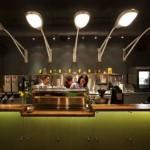 restaurante iluminação