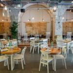 restaurante rústico moderno